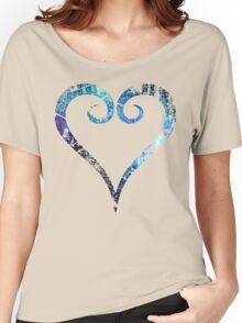 Kingdom Hearts Heart grunge universe Women's Relaxed Fit T-Shirt