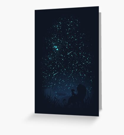 Under The Stars Greeting Card