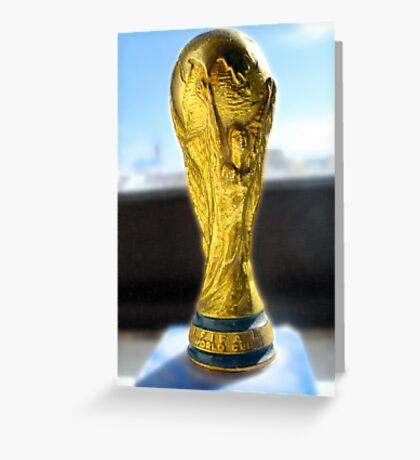 Word Cup  Greeting Card