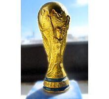 Word Cup  Photographic Print