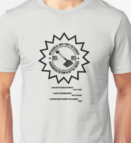 Mechanical Anti-Theft Systems Unisex T-Shirt