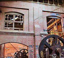 Inside Abandoned Brickworks by Jeanette Varcoe.
