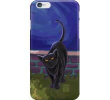 Animal Parade Black Cat iPhone Case/Skin