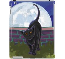 Animal Parade Black Cat iPad Case/Skin