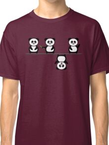 Another perspective for the panda Classic T-Shirt