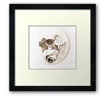 Shades of you Framed Print