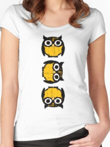 The complex life of owls Women's Fitted Scoop T-Shirt