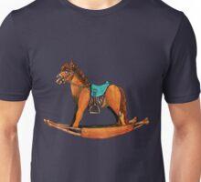 Zombie Rocking Horse Unisex T-Shirt