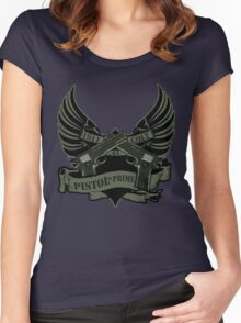 Pistol is Prime Redux Women's Fitted Scoop T-Shirt