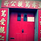 The Red Door by Arielle Hall