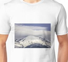 Snowy Mountain Top Unisex T-Shirt