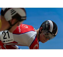 Matthew Glaetzer - Mens Sprint Photographic Print