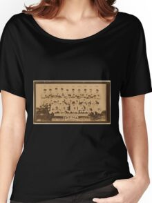 Benjamin K Edwards Collection New York Yankees baseball card portrait Women's Relaxed Fit T-Shirt