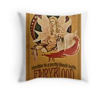 True Blood – Fairy Blood - Sookie Stackhouse Throw Pillow