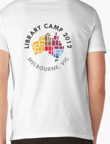 LibCampOz 2012 - Melbourne Mens V-Neck T-Shirt