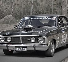Ford XY GT Falcon by Geoffrey Higges