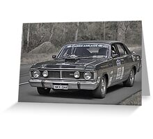 Ford XY GT Falcon Greeting Card