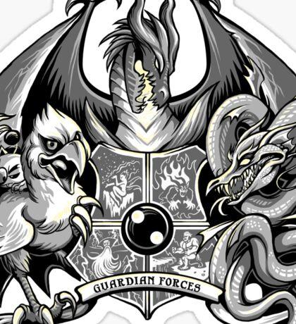 Guardian Forces - Monochrome Sticker