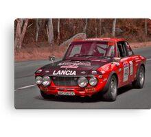 Lancia Fulvia 1.6 HF Canvas Print