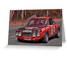 Lancia Fulvia 1.6 HF Greeting Card