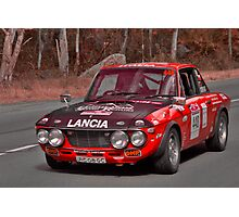 Lancia Fulvia 1.6 HF Photographic Print