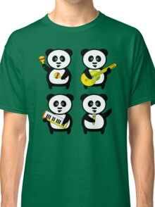Band of pandas Classic T-Shirt