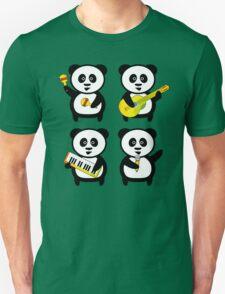 Band of pandas Unisex T-Shirt
