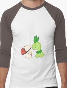 Curious Little Pokemon Men's Baseball ¾ T-Shirt