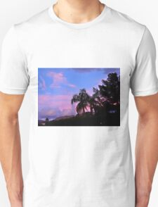 WATER COLORED SKY OVER PALM DESERT Unisex T-Shirt