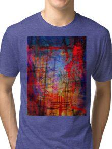 the city 34 Tri-blend T-Shirt