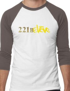 221BELIEVE Men's Baseball ¾ T-Shirt