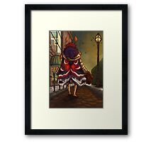Leaving Town Framed Print