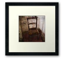 chair Framed Print