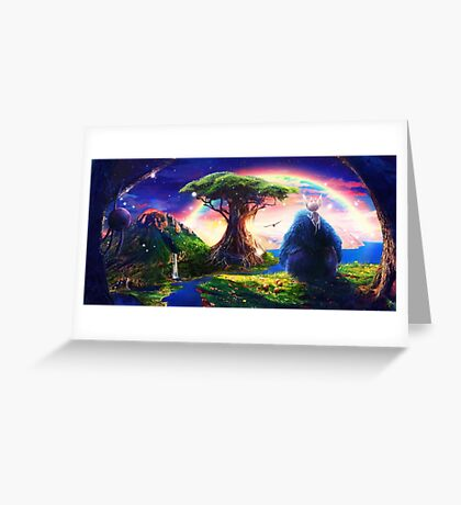 Ori and the Blind Forest Greeting Card