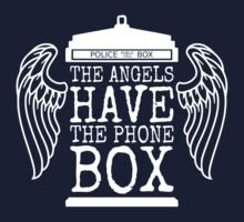 Angels Have The Phone Box by Robert Partridge