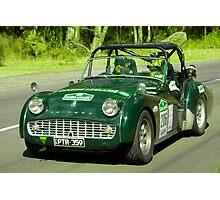Triumph TR3 A 1959 Photographic Print