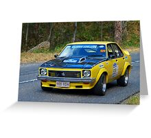 Holden Torana A9X - 1977 Greeting Card