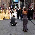 directing the wedding party by geof