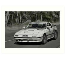 Mazda RX7 Turbo - 1981 Art Print