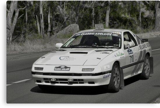 Mazda RX7 Turbo - 1981 by Geoffrey Higges