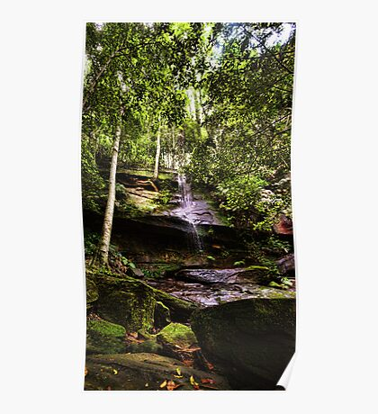 Strickland Falls, Central Coast NSW Poster