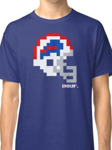 Tecmo Bowl -  Buffalo - 8-bit - Current Helmet shirt (RED HELMET available on Etsy -- see notes) Classic T-Shirt