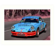 Porsche Carrera RS - 1973 Art Print