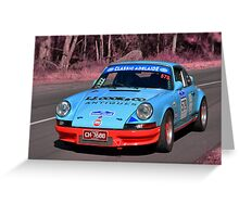 Porsche Carrera RS - 1973 Greeting Card