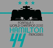 Lewis Hamilton TRIPLE World Champion by Leopard