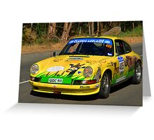 Porsche 911 2.4S Coupe Greeting Card