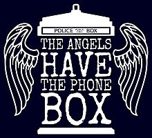 Angels Have The Phone Box Photographic Print