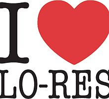 I Heart Lo-Res by iKalDesign