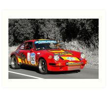 Porsche 911 Carrera RS - 1974 Art Print