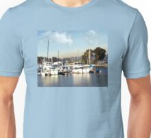 Pretty Yachts All in a Row Unisex T-Shirt